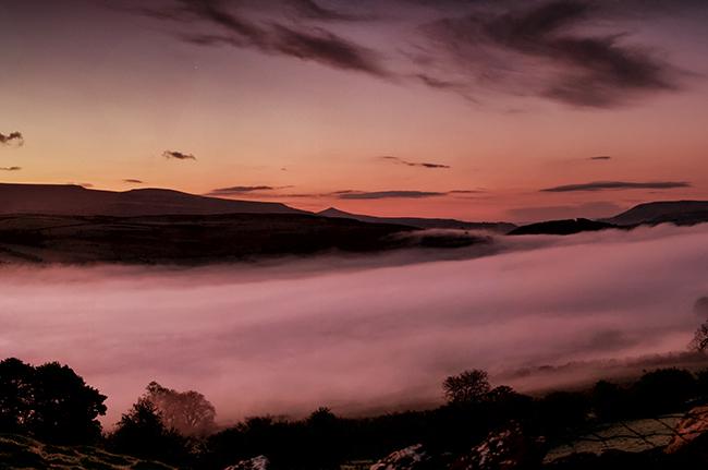 Black Mountains Sunrise_Brecon Beacons_Landscape_Nigel Forster_091112017