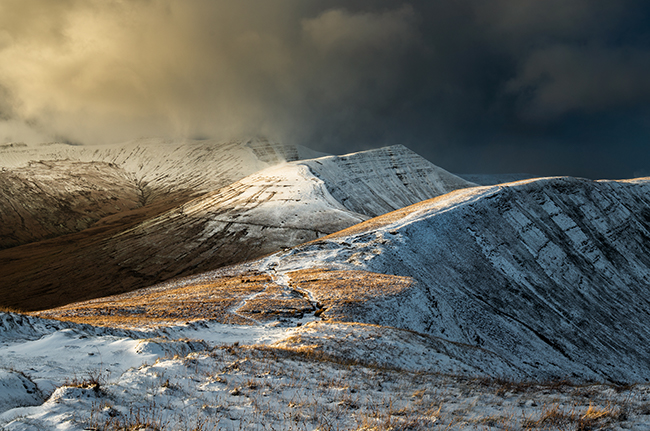 Cribyn Winter storm_Brecon Beacons_Landscape_Nigel Forster_091112017