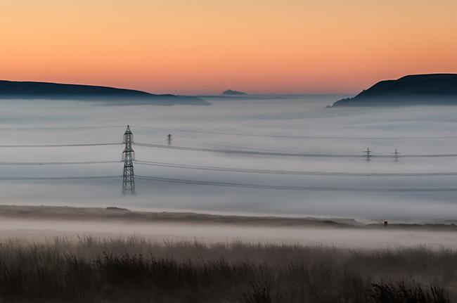 Llangynidr Moors Sunrise