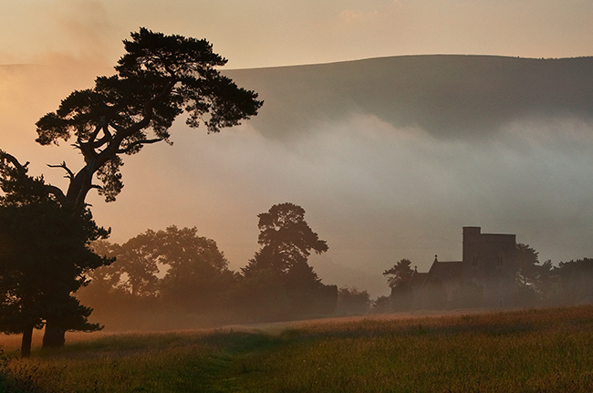 Llangasty Church at Llangorse Lake_Brecon Beacons_Landscape_Nigel Forster_091112017
