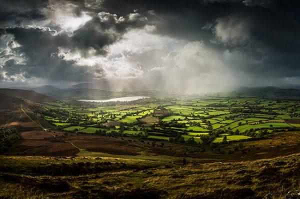 Mynydd Llangorse Storm