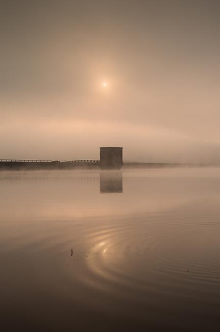 Tretower reflection