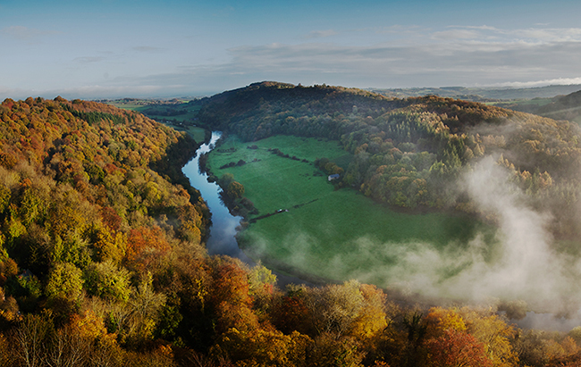 Shropshire, Wye Valley and the Borders
