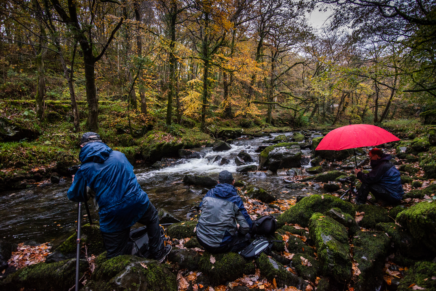 Llanbedr Waterfall Snowdonia Photography Workshop
