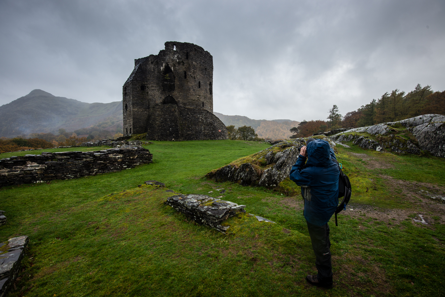 Llanberis Castle. Photography Workshop with Nigel Forster