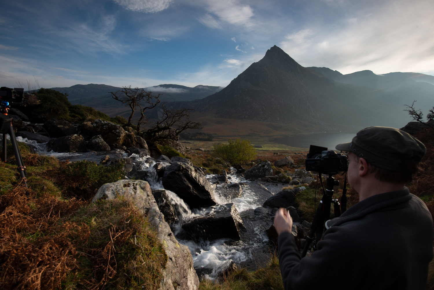 Tryfan from Afon Lloer, Snowdonia. Photography workshop with Nigel Forster