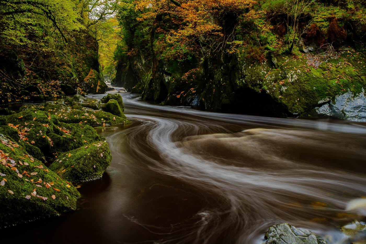 The Fairy Glen. Image on Snowdonia Photography workshop with Nigel Forster