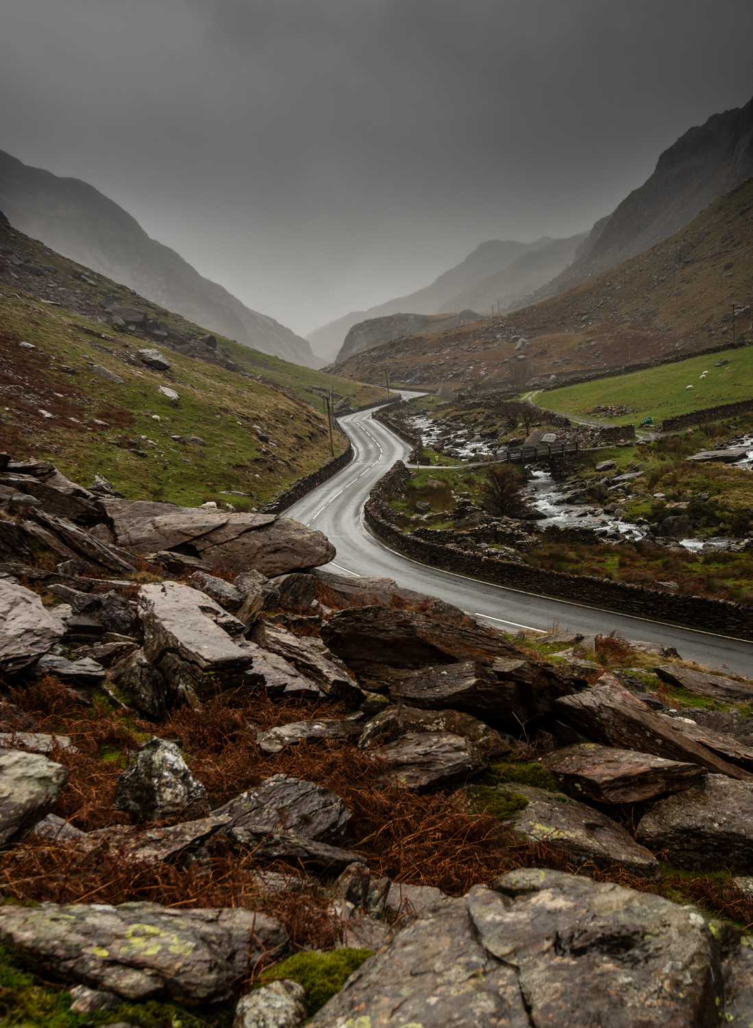 Llanberis Pass, Snowdonia National Park Photography Workshop with Nigel forster