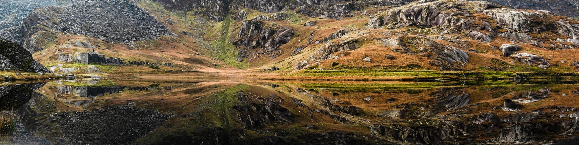 Cwmorthin Slate Mines, Blaenau Ffestiniog. Snowdonia Workshop with Nigel Forster