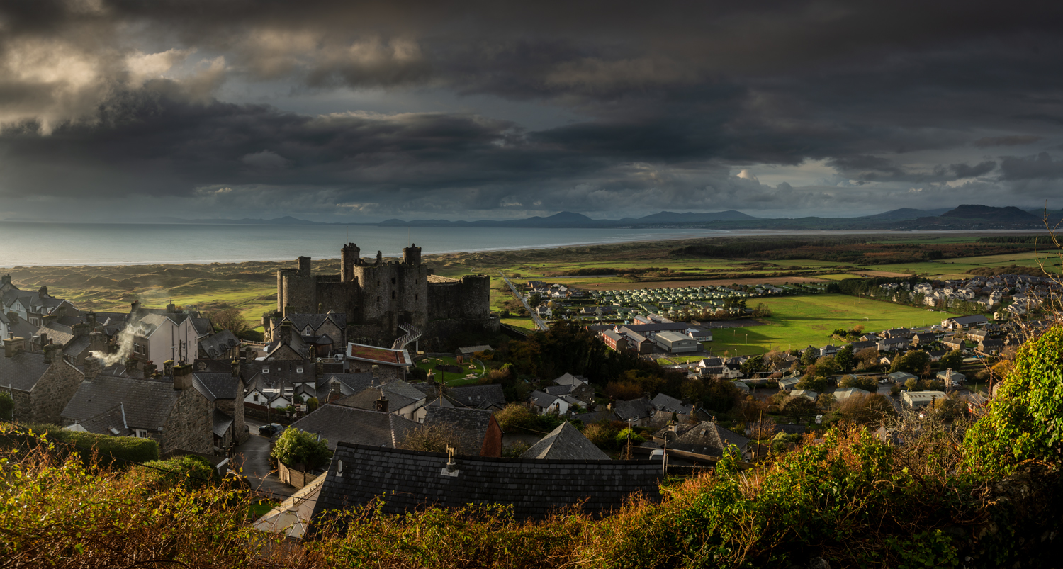 Harlech Castle, Snowdonia Photography Workshops with Nigel Forster