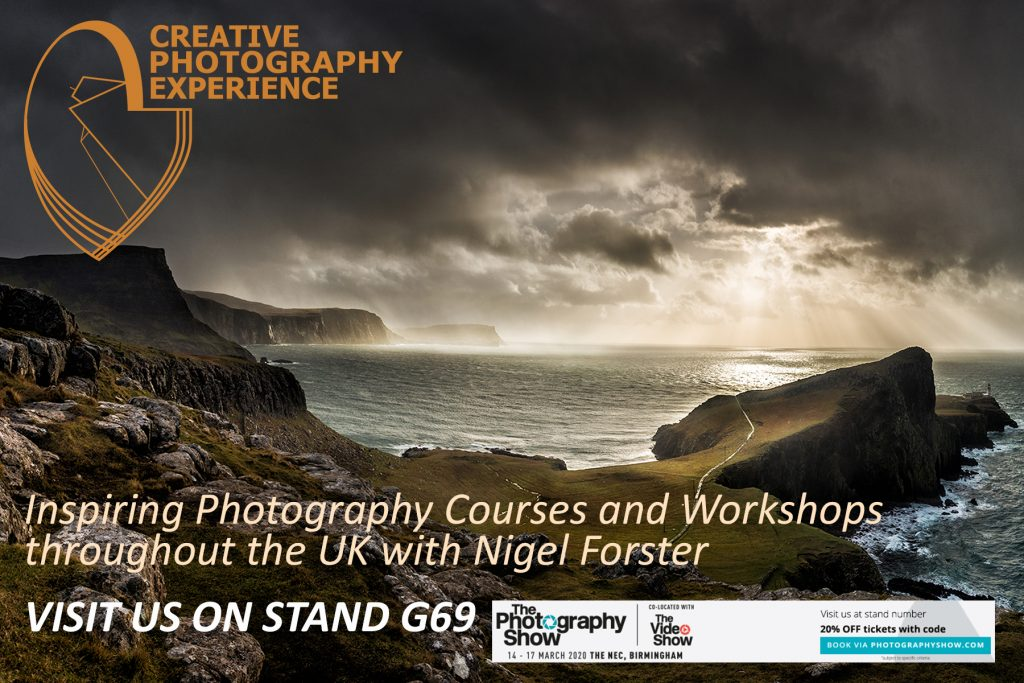 Creative Photography Experience at the Photography Show 2020